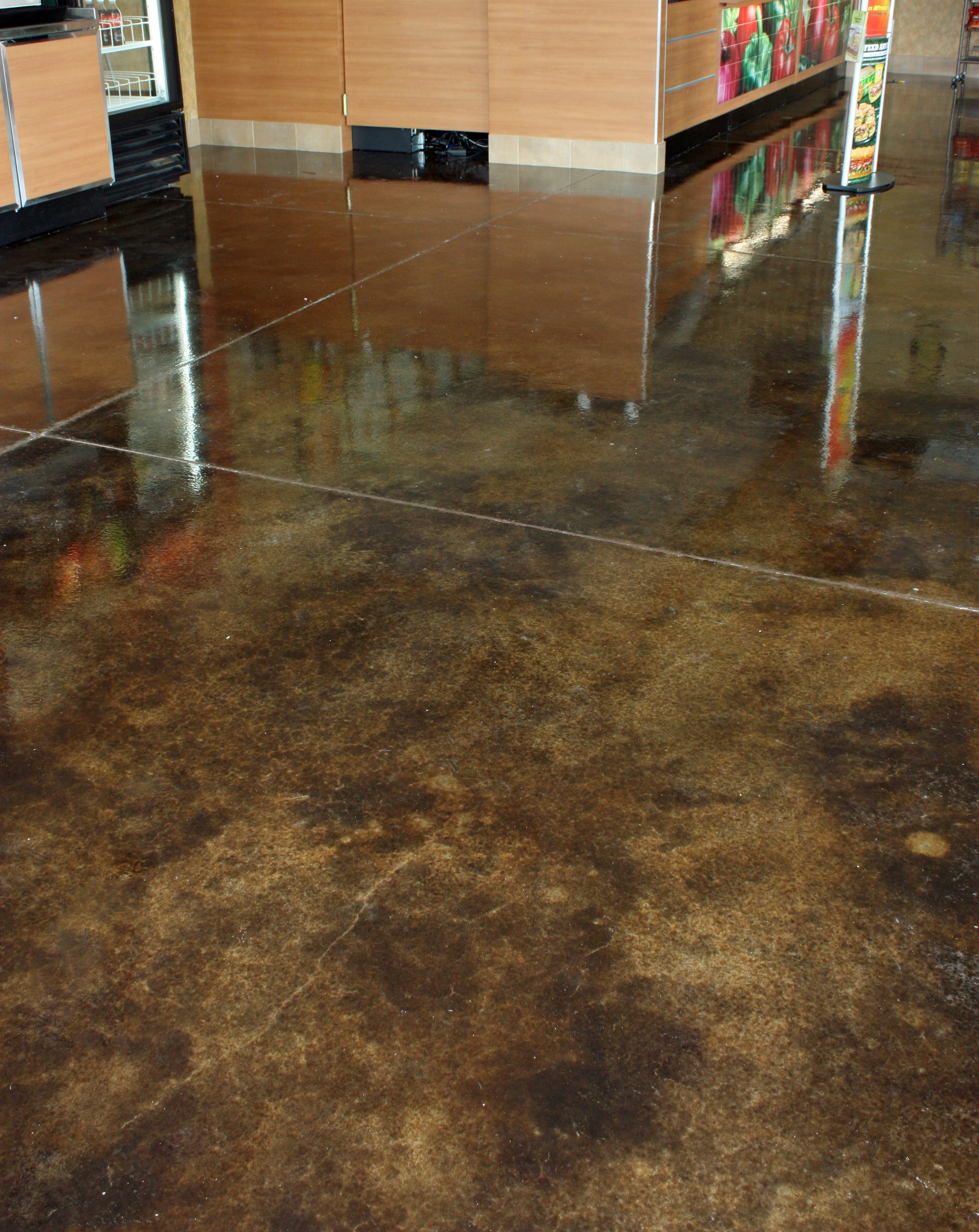 Acid Stained Floors Orr Concrete Inc